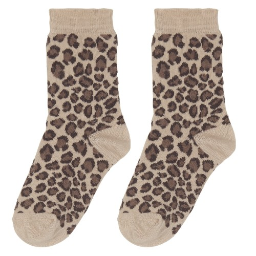 "Socks ""Caramel Leopard"""